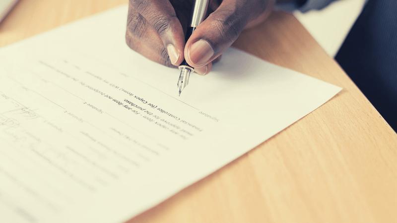署名捺印・記名押印の留意点